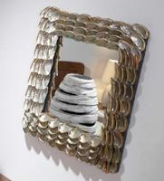 Espejos conchas marinas - Espejo conchas marinas