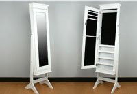 Espejo de pie Joyero 2 - Espejo de pie y Joyero o galán