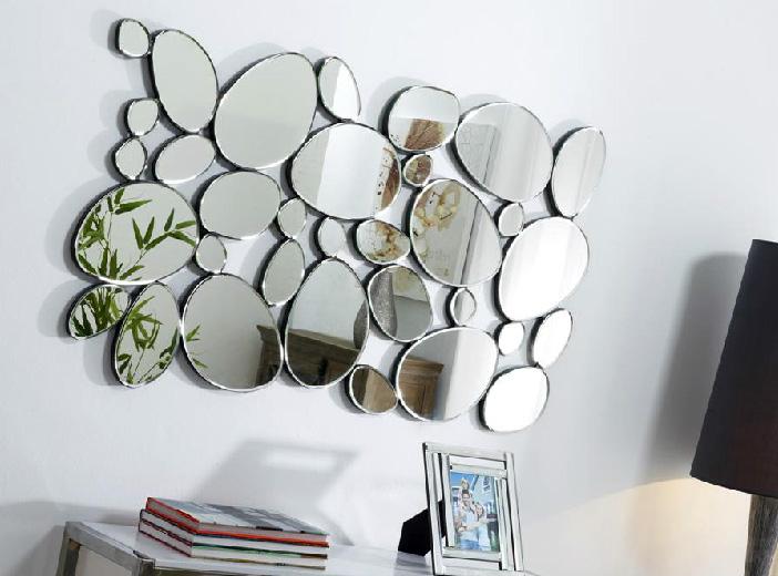 Espejo de figuras redondas for Disenos de espejos