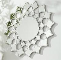 Espejos forma de sol - Espejos redondos forma de sol