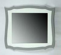 Espejo blanco y gris de pino CARPE - Espejo blanco y gris de pino CARPE