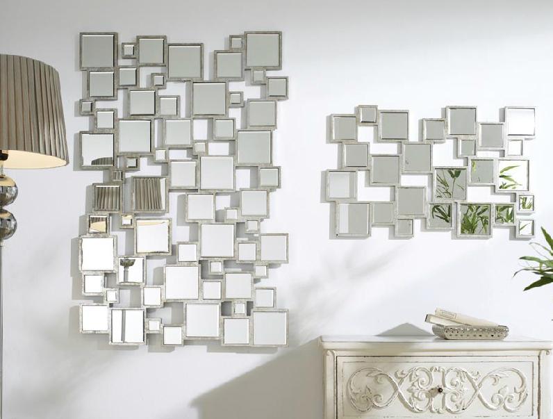 Espejos y cuadros decorativos excellent u decoracion de for Espejos decorativos con formas