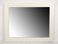 Espejo blanco de pino CARPE - Espejo blanco de pino CARPE