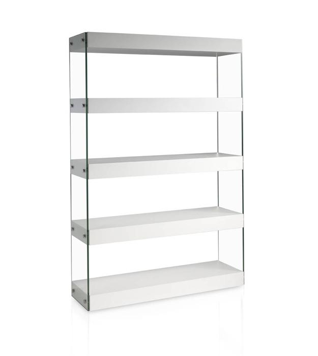 estanteria lacada blanca moderna - Estanteria Moderna