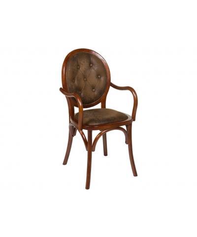 Silla clásica marrón - Silla clásica marrón
