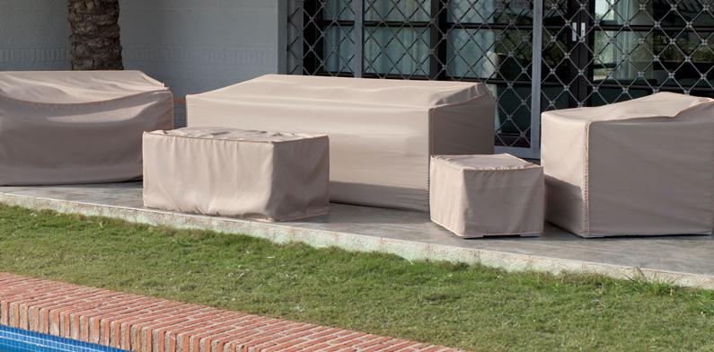 Fundas mesas sillones exteriores baratas lleida manressa for Muebles terraza exterior