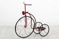Plantero Bicicleta en metal 1P - Plantero Bicicleta en metal para 1 planta en color rojo