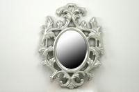 Espejo de Resina ovalado silver - Espejo de Resina Ovalado Silver