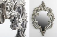 Espejo de Resina Grey - Espejo resina Grey color envejecido