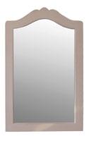 Espejo con marco de madera clásico - 100 cm alto x 65 cm ancho