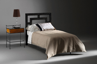 Cabecero y cama de forja Alexia