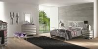 Cabecero y cama de forja Arosa - Cabecero de forja de formas rectas Arosa