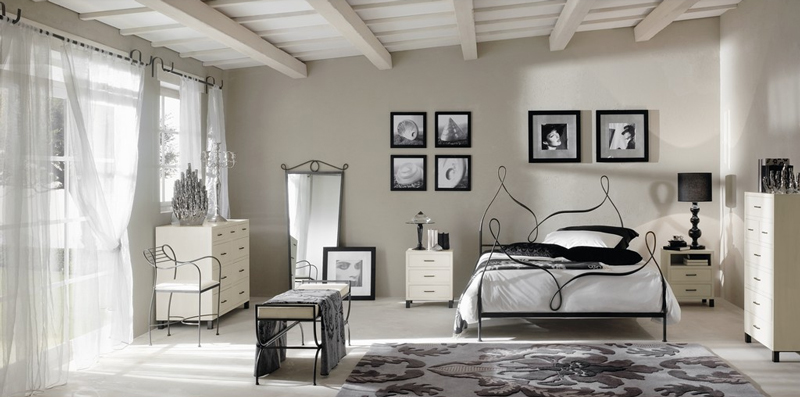 Dormitorio de forja Etna - Dormitorio de forja Etna