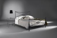 Cabecero y cama de forja Galeus - Cabecero y cama de forja de formas recta Galeus