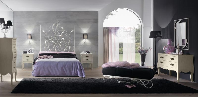 Dormitorio de forja Gleda - Dormitorio de forja Gleda