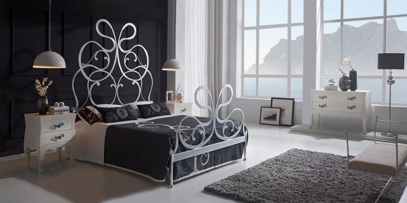 Dormitorio de forja Silver - Dormitorio de forja Silver