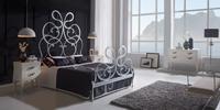 Dormitorio de forja Silver
