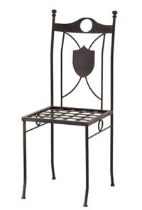 Silla y sillón modelo Escudo - Silla y sillón modelo Escudo