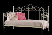 Sofá cama de forja con decoración clásica - Sofá cama de forja con decoración clásica