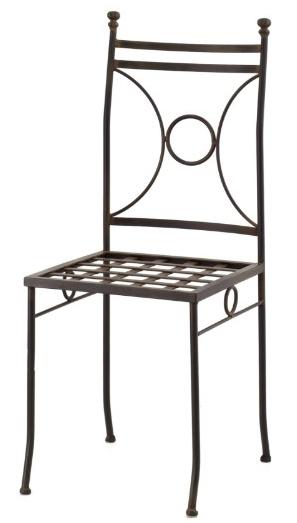 Sillas comedor de hierro hechas en espa a for Modelos de sillas de hierro