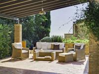 Juego de sofas de lujo para exteriores 6 - Sofá y sillones