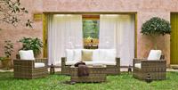 Set sofá sillones y mesa de lujo para exteriores 7 - Set de sofá y sillones para exterior