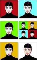 Colección Pop Art Audrey - Cuadro impreso