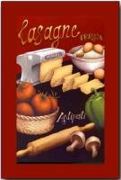 Colección Bodegones Lasagne - Cuadro impreso