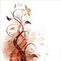 Cuadro de motivos florales - Cuadro impreso
