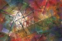 Cuadro de arte abstracto