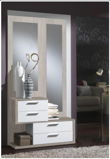 Recibidor entrada - Mueble para la entrada con espejo