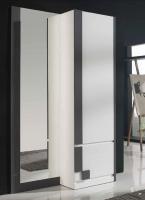 Armario zapatero con espejo - Armario zapatero moderno