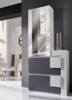 Armario zapatero con espejo incorporado - Armario zapatero moderno