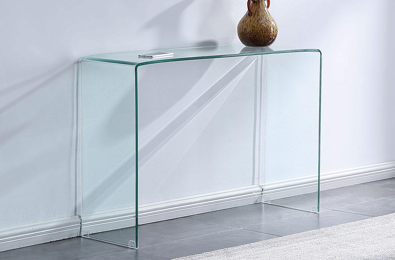 CONSOLA CRISTAL GLASS - CONSOLA CRISTAL GLASS