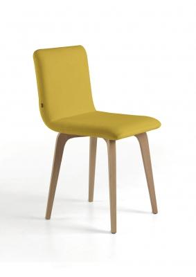 SILLA 561 - SILLA 561, silla con estructura de madera y tapizados de alta calidad