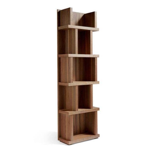 Estanteria GOB-N5405 - Estanteria GOB-N5405, Estantería en madera chapada en Nogal