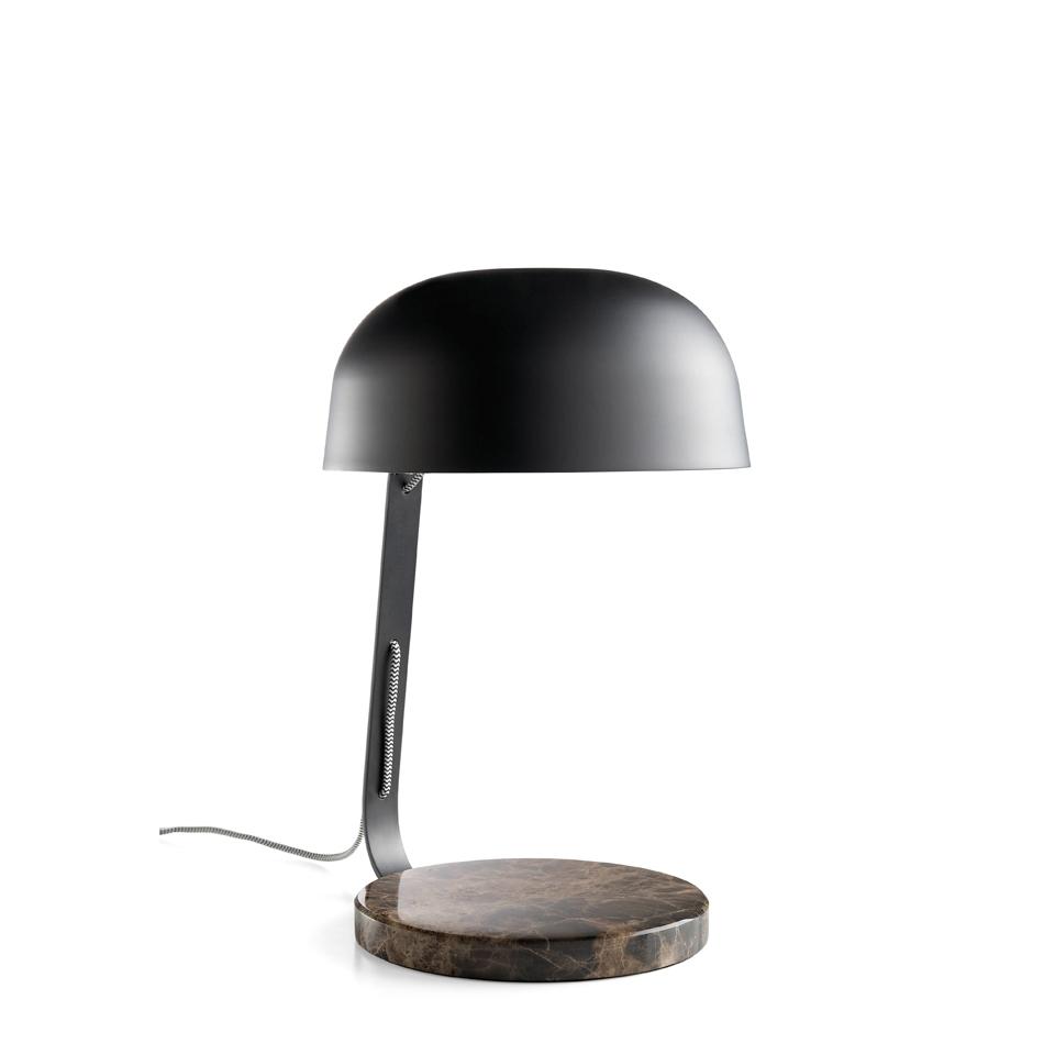 Lampara de sobremesa S1188 - Lampara de sobremesa S1188, Lámpara de sobremesa de acero epoxy en color negro