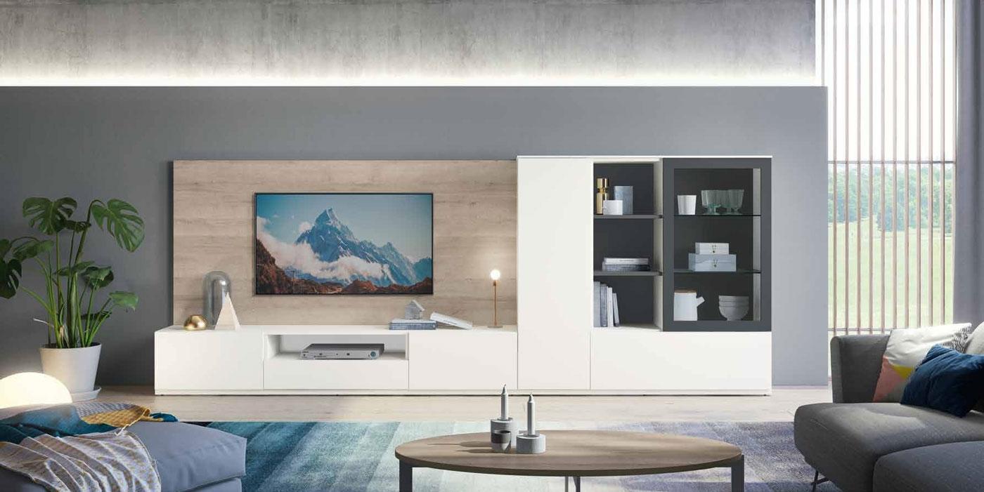 Salon Moderno colección Amazing, propuesta 05 - Salon Moderno colección Amazing, propuesta 05