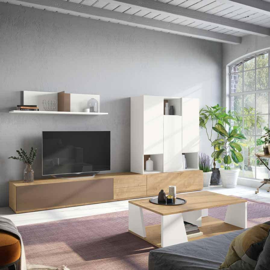 Salon Moderno colección Amazing, propuesta 06 - Salon Moderno colección Amazing, propuesta 06