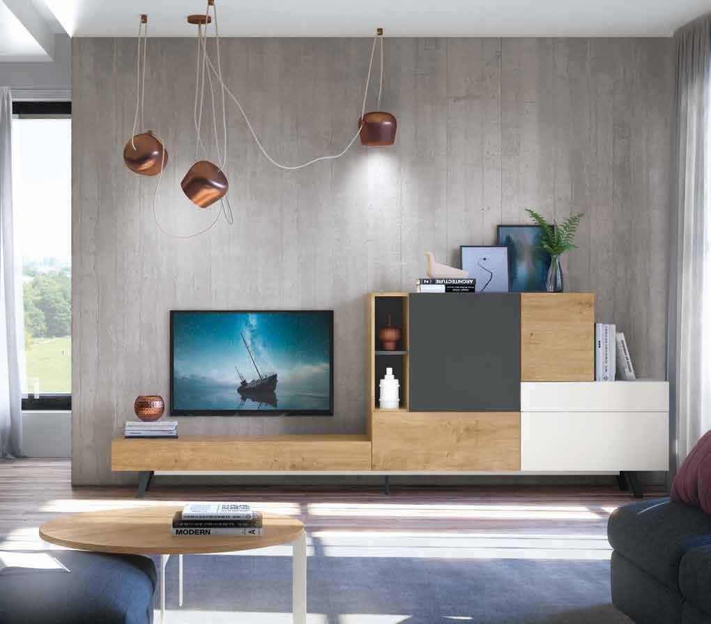 Salon Moderno colección Amazing, propuesta 01