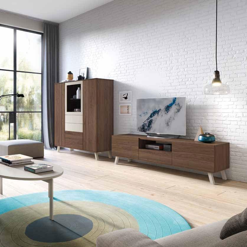 Salón Moderno colección Amazing, propuesta 18