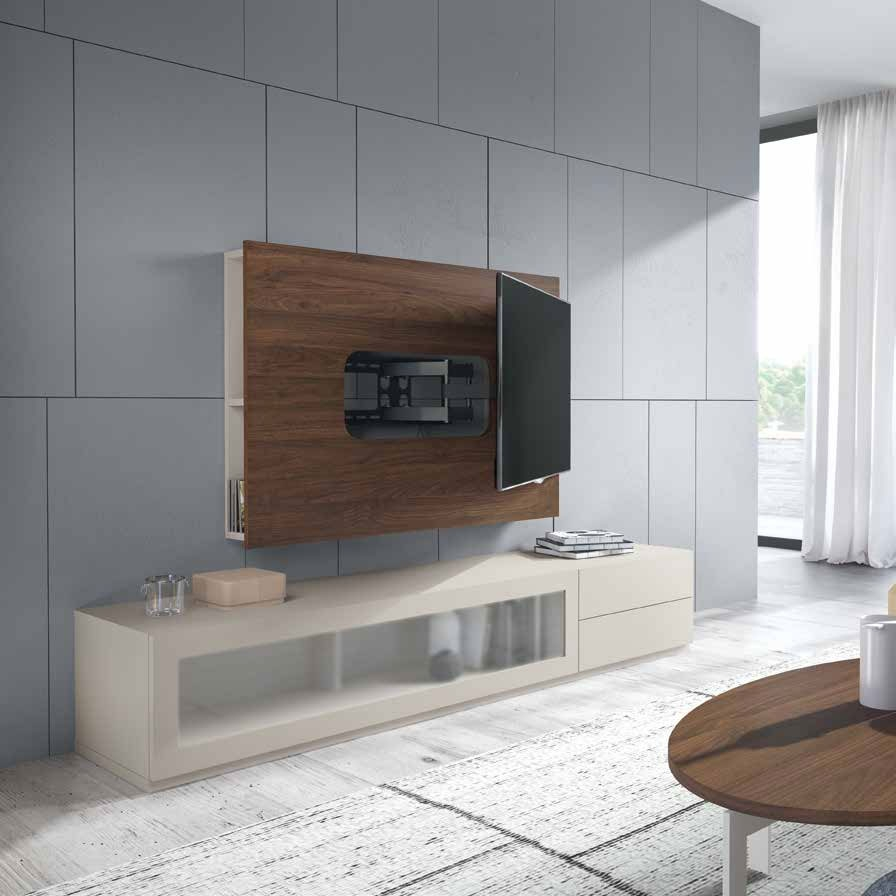 Salón Moderno colección Amazing, propuesta 54 - Salón Moderno colección Amazing, propuesta 54