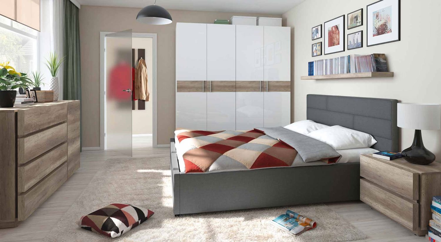 DORMITORIO NORDICO-3 NEW LINE - DORMITORIO NORDICO-3 NEW LINE