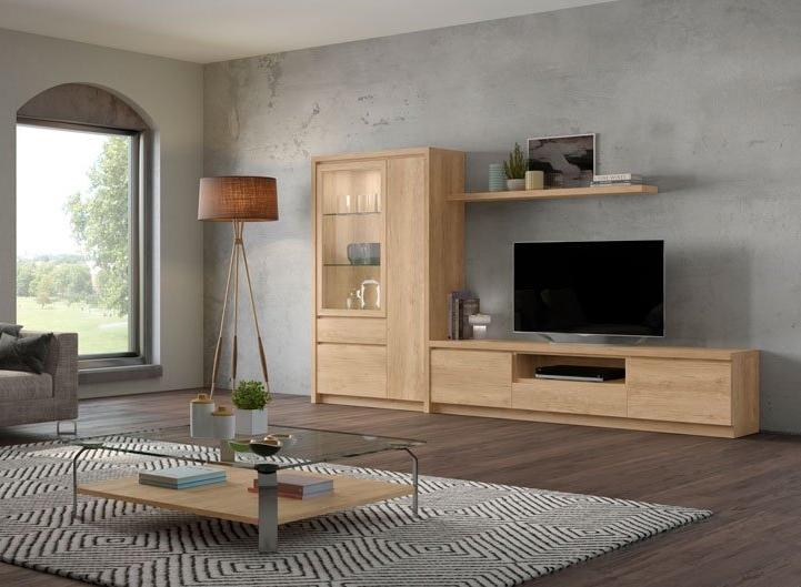 Salón Moderno Colección Duna Ambiente 2  - Salón Moderno Colección Duna Ambiente 2, La colección consta de una gran variedad de módulos que combinados con las diferentes bases se obtiene una infinidad de posibilidades para la creación de cualquier espacio.