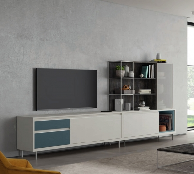 Salón Moderno Colección KAY 3.0 Ambiente K21