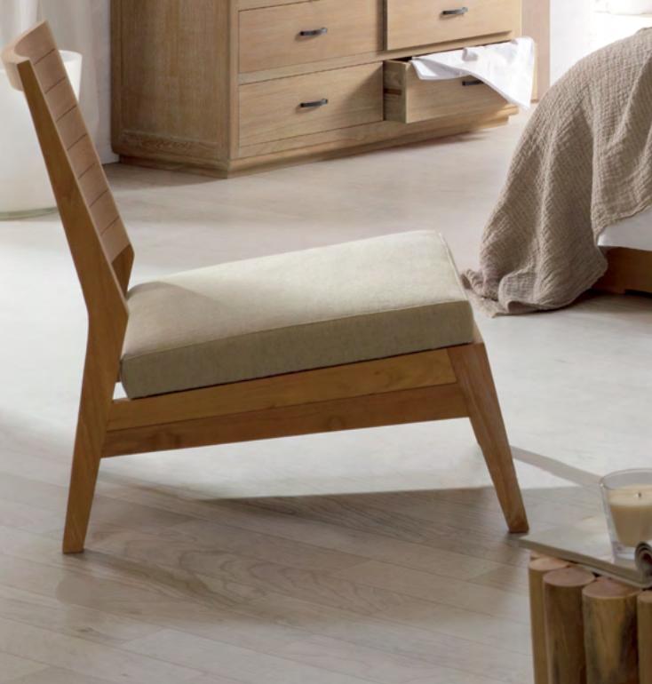 Sillón de madera de teca  Baladia - Sillón de madera de teca.