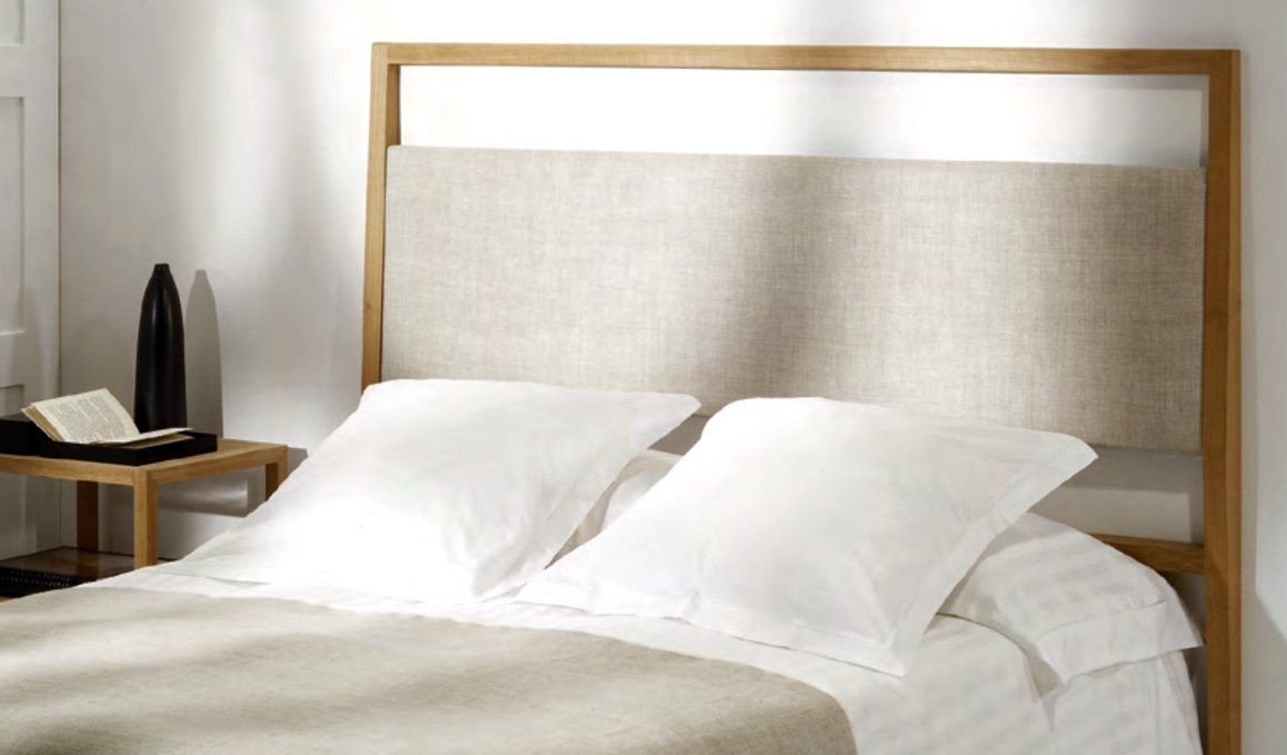 Cabecero cama de madera de teca  - Cabecero de madera de teca.