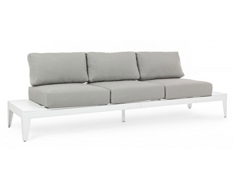 SOFA 3P C-C KINSLEY BLANCO  - SOFA 3P C-C KINSLEY BLANCO