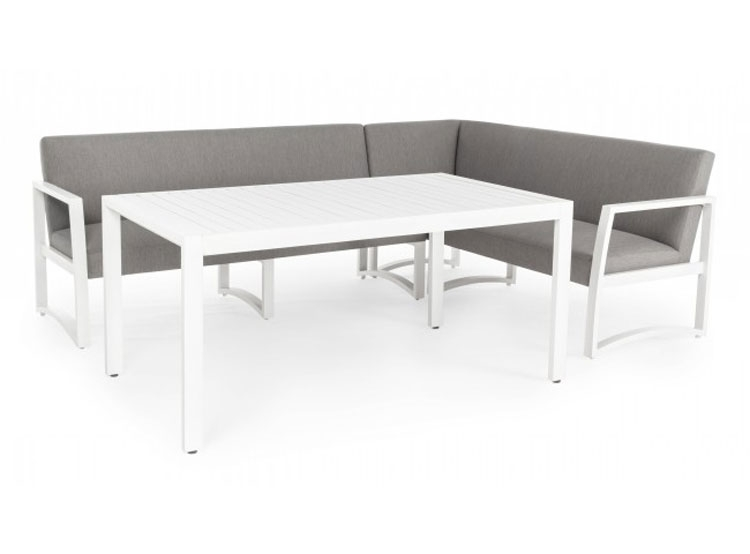 SET3 SOFA MODULAR NIVES BIANCO - SET3 SOFA MODULAR NIVES BIANCO