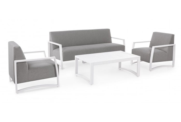 SET4 SOFA NIVES BIANCO - SET4 SOFA NIVES BIANCO